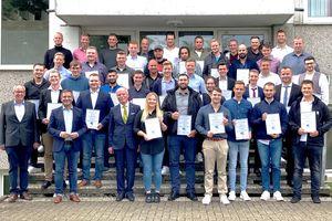 Jahrgangsbeste Auszubildende der BAUINDUSTRIE NRW 2021