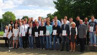 Bauindustrie NRW ehrt jahrgangsbeste Auszubildende 2015